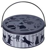 蚊遣り缶 キャット ストライプ【蚊やり】【猫】【ネコ】