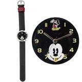 ディズニー フェイスアート 腕時計 MKN008-1 BK