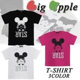 ◇2016春夏新作◇Big Apple ビッグアップル キャラT Tシャツ<RATS><3カラー>