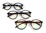 文豪系 ラウンド微色つきセルメガネ・眼鏡