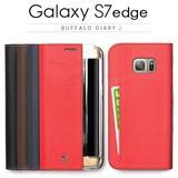 【 Galaxy S7 edge ケース】手帳型 Buffalo Diary2(バッファローダイアリー2)
