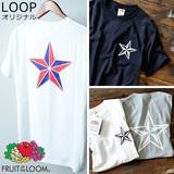 【2016 新作】 スターロゴ FRUIT OF THE LOOM フルーツオブザルーム メンズ 半袖 Tシャツ