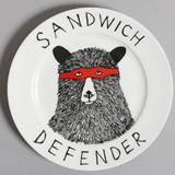 ジムボバート Jimbobart お皿 サンドイッチ ディフェンダー プレート 食器 英国製