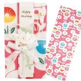 Hand Towel Gift Money Envelope Fairy tale Flower Thusen WAFUKA New Year