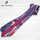 クイトランニング Quit Running ネクタイ ユニオンジャック イギリス ブランド ボックス付 qrtie005