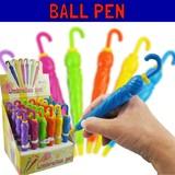 アンブレラボールペン * ノック式ボールペン/ファニーグッズ/傘/カサモチーフのペンです♪