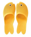 GOLD FISH SANDALS KIDSサイズ YELLOW