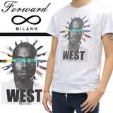 ◆お買い得春夏商材◆★最終処分★Forward Milano フォワードミラノ メンズ 半袖 Tシャツ<WEST>