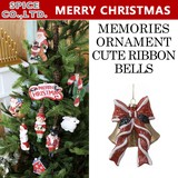 ■2016X'mas 新作■ MEMORIES ORNAMENT CUTE RIBBON BELLS