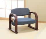 天然木立ち座り楽ちん座椅子【直送可】【送料無料】