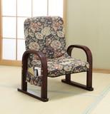 天然木リクライニング足腰いたわり座椅子【直送可】【送料無料】