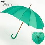 フォート アンブレラ Fort Umbrella ハート 傘 レディース グリーン 緑
