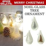 ■2016X'mas 新作■ NOEL GLASS TREE ORNAMENT
