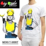 ◇2016春夏新作◇Big Apple ビッグアップル メンズ キャラT Tシャツ<M&M>