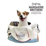 ベシックキャリートートバッグ ホワイト 犬 キャリーバッグ