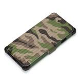 iPhone 6s/6用 タフフリップカバー ミリタリー