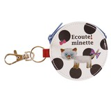 ECOUTE! Coin Case Charm Russian Blue