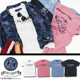 【激安!】※2016春夏商品SALE!GRF ジーアールエフ 両面プリント Tシャツ<4カラー><CALIFORNIA>