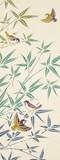 【日本製】注染 手ぬぐい 竹葉雀【和布華】