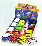 フリクションカー対応☆ロックシティーカー 4種×3色アソート (商品コード:201-373)