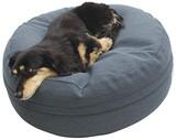 クッション ブルー 犬 ベッド クッション