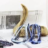 ◆Web限定品◆エスニック調◆エスニックウッド四連ネックレス