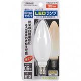 C32形LEDランプ電球色E12ホワイト
