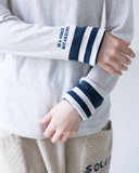 2016-17年秋冬商品 7色【刺繍袖切り替えロングスリーブ】