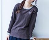 2016-17年秋冬商品6色【刺繍ワッペンロングスリーブ】