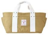 【オープン記念価格】 エヴリデイランチバッグ : キャメル トート キャンバス 帆布 運動会 行楽