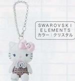 特価品【キティ】SWAROVSKI ELEMENTSマスコットブローチ(キラキラリボンシリーズ)