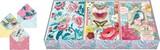 PUNCH STUDIO グリーティングカードセット 12枚入 鳥・蝶