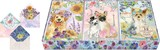 PUNCH STUDIO グリーティングカードセット 12枚入 犬