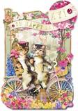 PUNCH STUDIO  グリーティングカード ラージサイズ <猫>