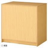 木製カウンター 収納付き