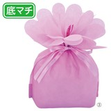 お花バッグ ピンク
