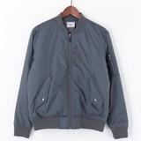 【予約販売】(10月納品)【2016AW新作】高密度ナイロン中綿MA-1ジャケット