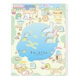 【6+1ポケット・450円】クリアホルダー(すみっ湖)<すみっコぐらし>