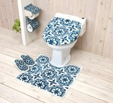 Set Toilet Kitchen Mat