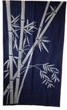 綿100% 染め暖簾 「竹」