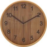 ブライウッド掛時計 (Φ22cm) NA、BR、WH、BK
