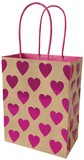 クラフトギフトバッグM Heart<紙袋>