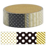 Washi Tape Patchwork Gold Decoration Notebook Album Washi Tape