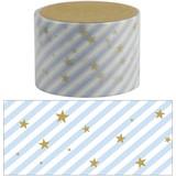 【マスキングテープ30mm slant star_blue】★デコレーション 手帳 アルバム マスキングテープ 母の日