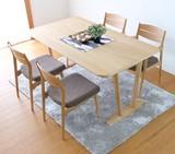 テーブル 幅150cm (ナチュラル)【SO-79】大型配送(小)