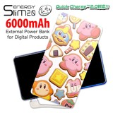 ◎ENERGY Slim(モバイルバッテリー)6000mAh 星のカービィ(アイシングクッキー)