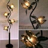 ◆ご予約受付中!◆ロータス フラワーランプ BK /照明/ヨーロピアン