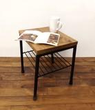 【直送可】【OLD PINE DESK】I&Wカフェテーブル 2色