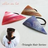 【aller au lit】-Triangle Hair Series-三角ゴムポニー・B