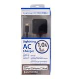 【特価】【ファーストエイド】ライトニングコネクタ用AC充電器1A(ブラック)[817901]